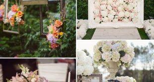 39 Creative Vintage Wedding Ideas with Photo Frames