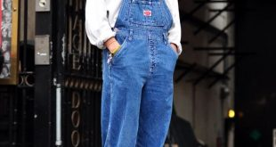 Im not the only one! HEYYY! look... more overalls! This time in London @ the Pa...