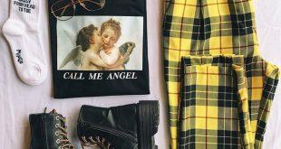 Call me angel oversized tee