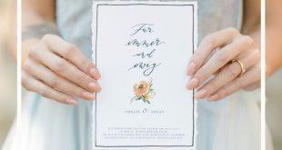 Luxus, der bezahlbar ist! Hochzeitseinladungen günstig selbst gestalten