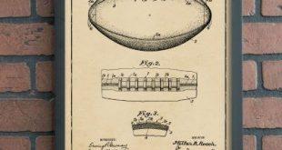 Vintage Football Patent Art