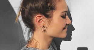 Geometrische Creolen Silber – #fashion #style #fashionista #dress #chic #ho