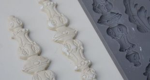 How to Use Clay Molds: Adding Vintage Clay Mold Appliques to Furniture